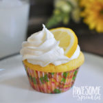 Lovely Lemon Cupcakes with fresh squeezed Lemon Buttercream | Awesome with Sprinkles