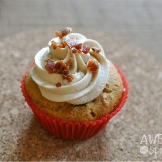 Maple Bacon Breakfast Cupcakes