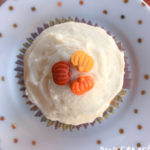 Pumpkin Spice Cupcakes with Cinnamon Cream Cheese Frosting | Awesome with Sprinkles
