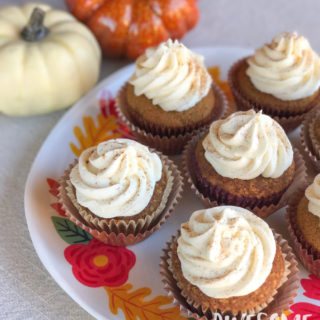 Perfect Pumpkin Spice Cupcakes with Cinnamon Cream Cheese Frosting