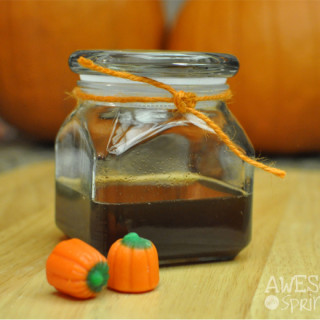 Make your own Pumpkin Spice Latte Syrup | Awesome with Sprinkles