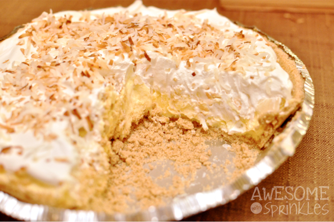 Banana Coconut Cream Pie | Awesome with Sprinkles