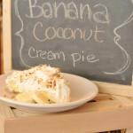 Banana Coconut Cream Pie