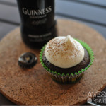 Guinness Stout Chocolate Cupcakes with Cream Cheese Frosting