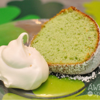 It's Easy Being Green Pistachio Bundt Cake