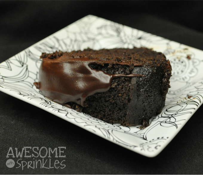 Dark Chocolate Espresso Bundt Cake | Awesome with Sprinkles