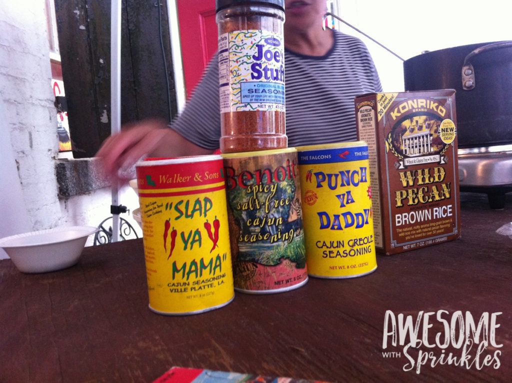 Nomming in Nawlins - Funny Spices