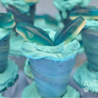Sharknado Cupcakes make a splash for Shark Week!