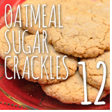 oatmeal sugar crackles