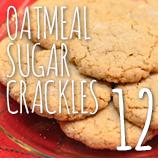 oatmeal sugar crackles