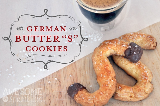 "German Butter ""S"" Cookies 
