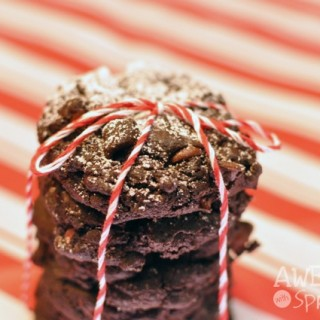 Chocolate Chili Cookies | Awesome with Sprinkles