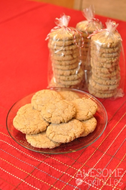 Oatmeal Sugar Crackles | Awesome with Sprinkles