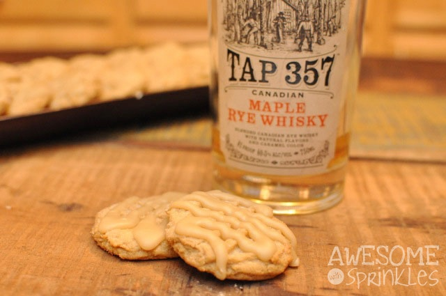 Maple Whiskey Cookies | Awesome with Sprinkles