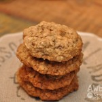 Chewy Oatmeal Cherry Cookies