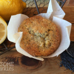 Lemon Poppyseed Banana Muffins