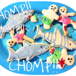 Shark Attack Sugar Cookies