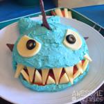 Jaws Jr: A Shark Shaped Creamy Ranch Cheese Ball