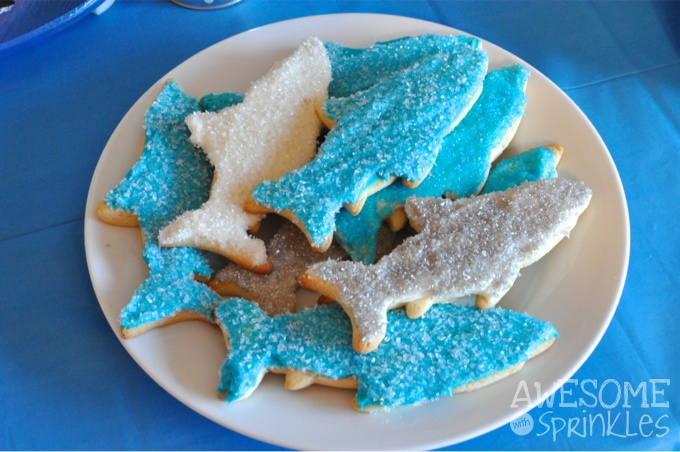 The Most Awesome Ever Sugar Cookies...as sharks! | Awesome with Sprinkles
