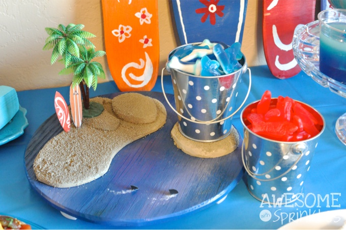 Shark on the Beach Party | Awesome with Sprinkles