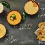 Three Cheers for Game Day Beer Cheese Dip