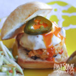 Spicy Buffalo Chicken Sliders