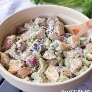 Dill & Rosemary Roasted Red Potato Salad