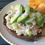 Avocado Tuna Salad with Greek Yogurt