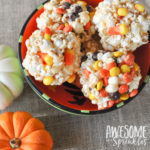 Classic Salted Caramel Popcorn Balls (with Candy Mix-ins)