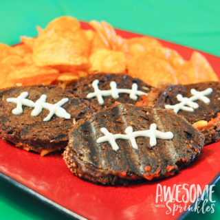 Mini Football Pizza Paninis