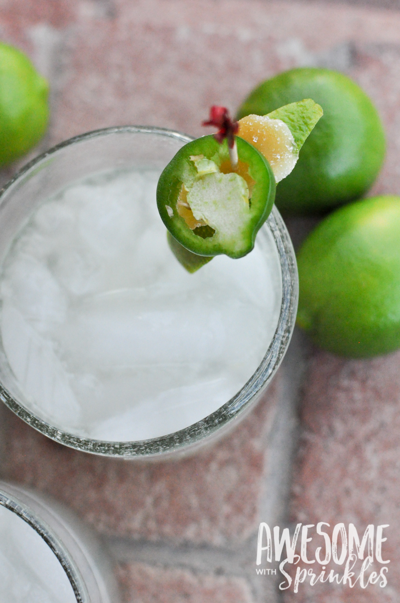 Hot as Jalapeño Margarita | Awesome with Sprinkles