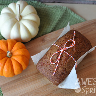 Pumpkin Spice Loaf | Awesome with Sprinkles