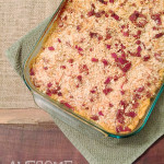 Baked Pumpkin Mac-n-Cheese with Bacon Crumbles