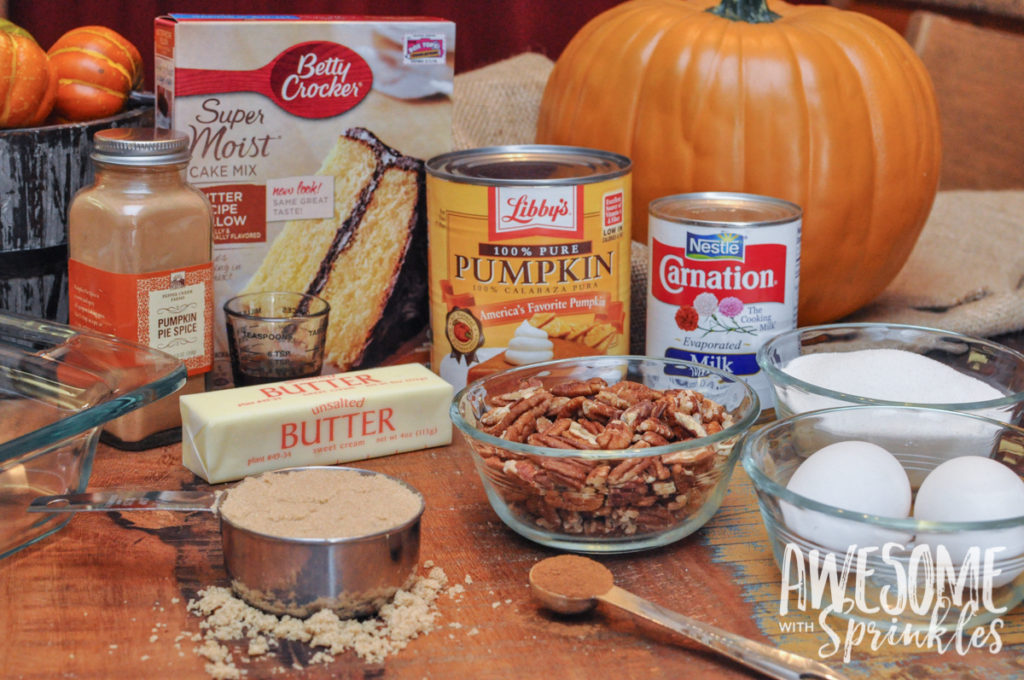 Easy Pumpkin Pecan Cobbler | Awesome with Sprinkles