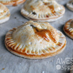 Boozy Apple Hand Pies | Awesome with Sprinkles