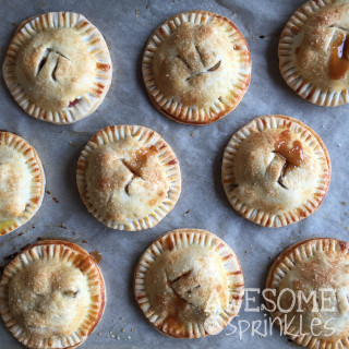 Boozy Caramel Apple Hand Pies