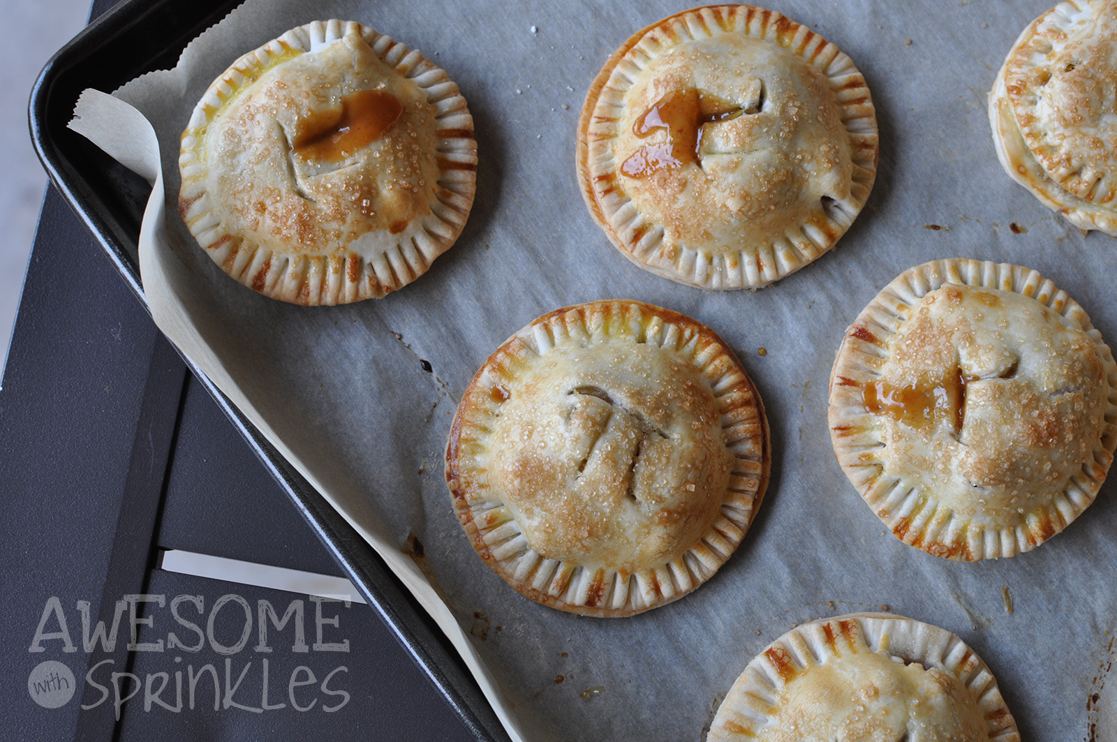 Boozy Apple Hand Pies   Awesome with Sprinkles