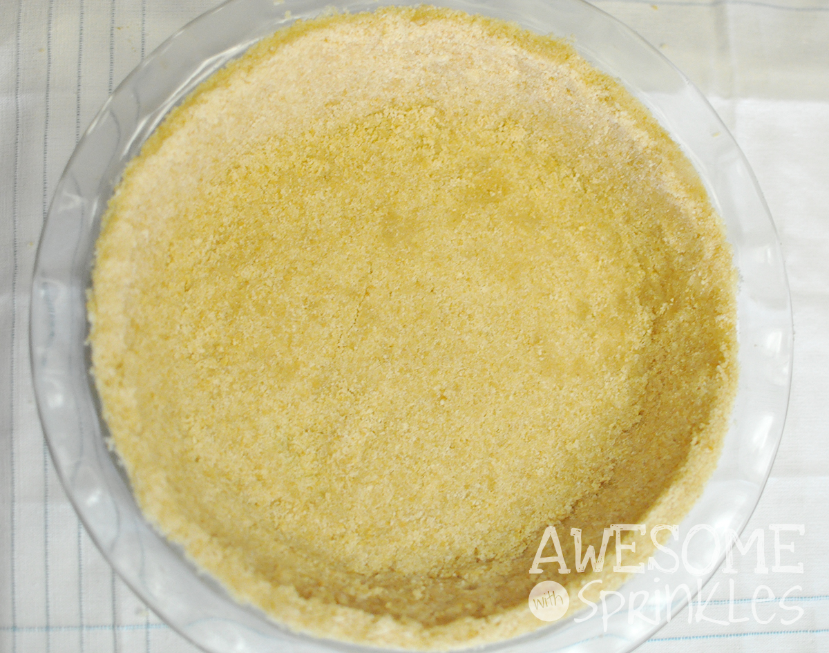 Step 5: Quick and Easy Crushed Cookie Pie Crust | Awesome with Sprinkles