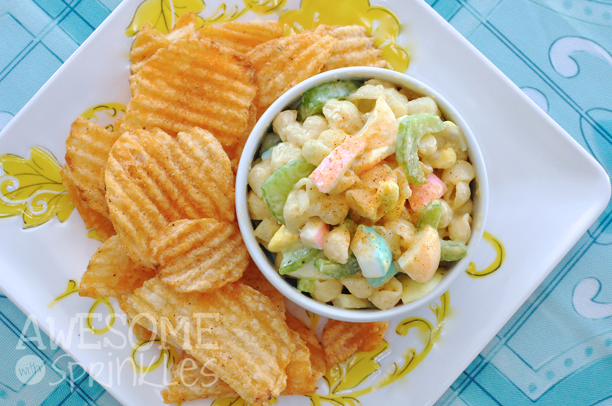 Macaroni Salad for Easter | Awesome with Sprinkles