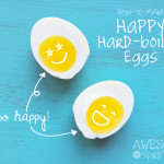 How to Make Happy Hard Boiled Eggs