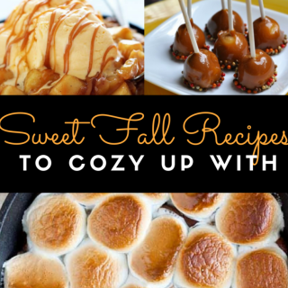Sweet Fall Recipes to cozy up with Round up