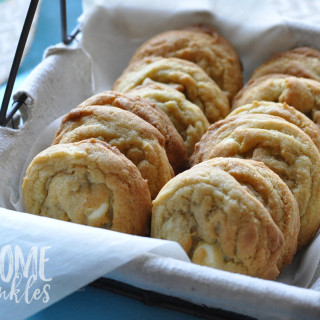 When Life Gives You Lemons… Make Lemon White Chocolate Chip Cookies