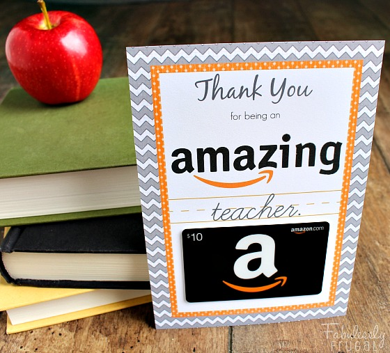Teacher Gifts - Gift Card