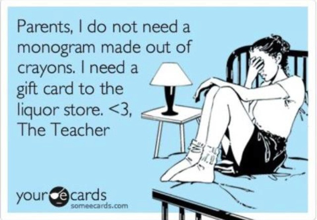 Teacher Gifts - No