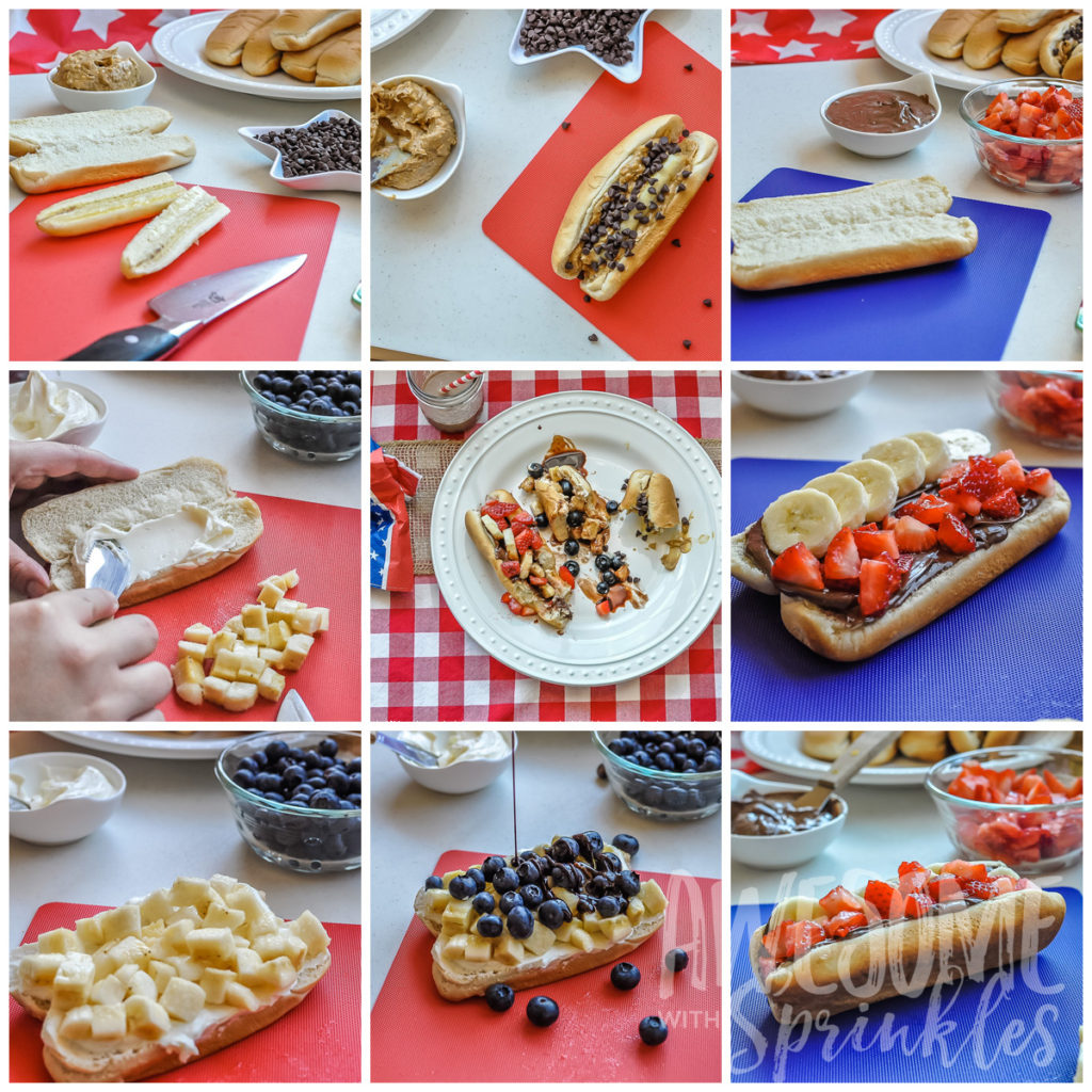 Dessert Dogs Collage | Awesome with Sprinkels