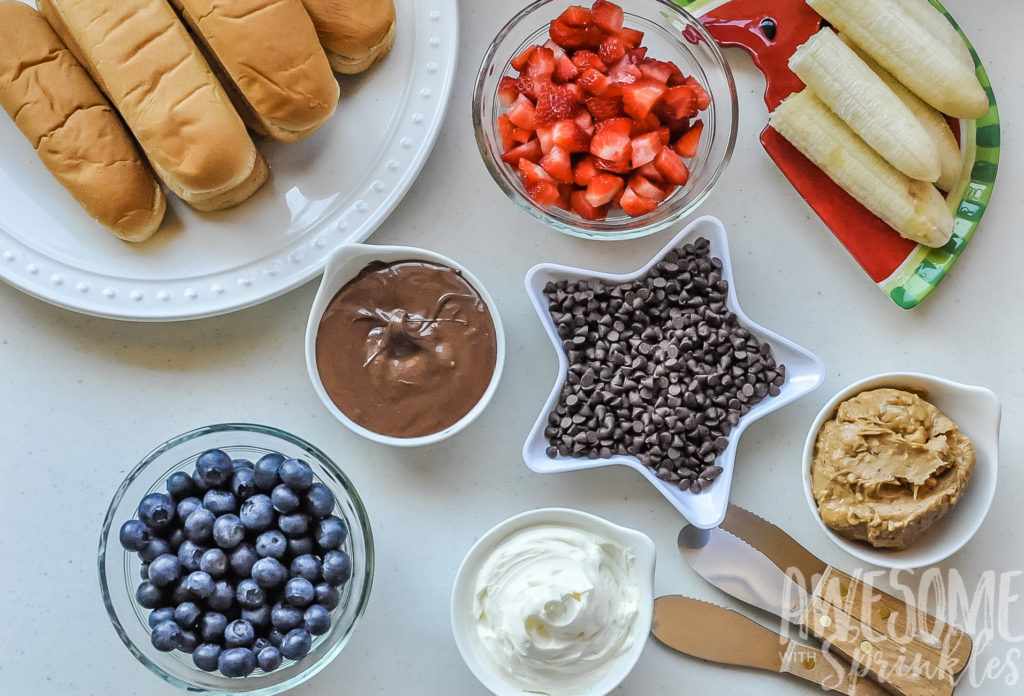 Dessert Dogs Ingredients | Awesome with Sprinkels
