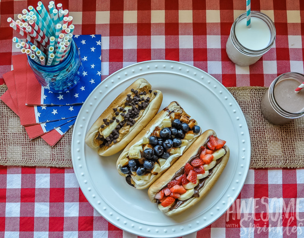 Dessert Dogs Three Ways | Awesome with Sprinkels