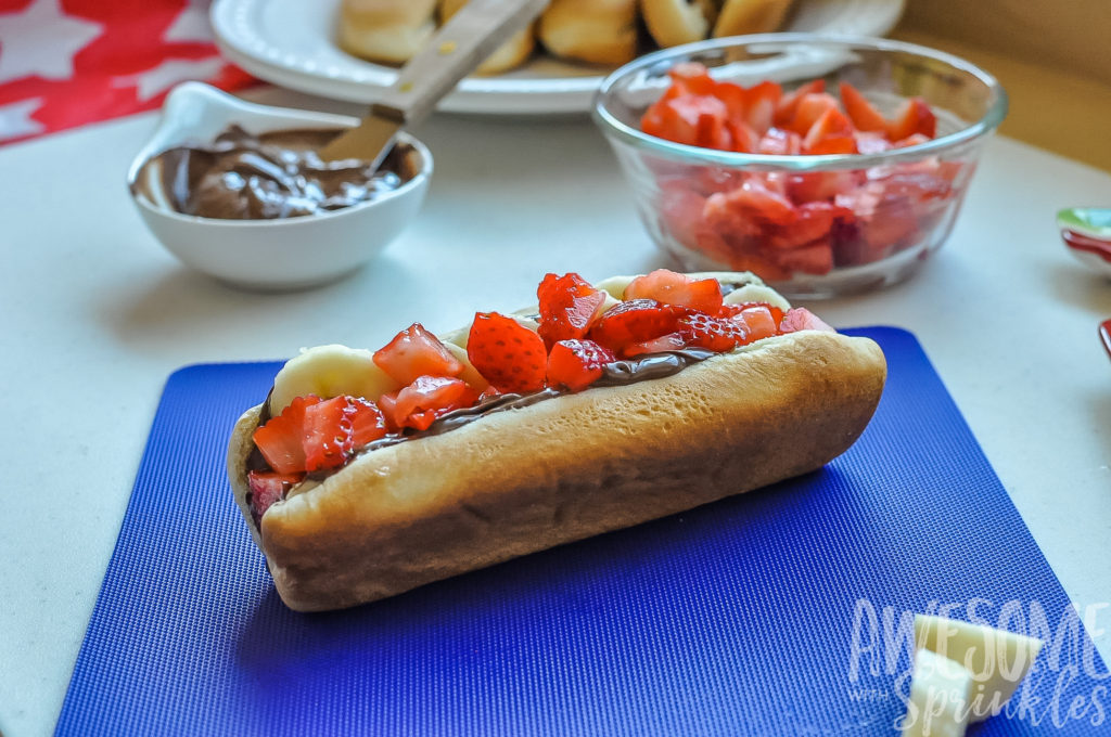 Dessert Dog Heaven on a bun | Awesome with Sprinkles