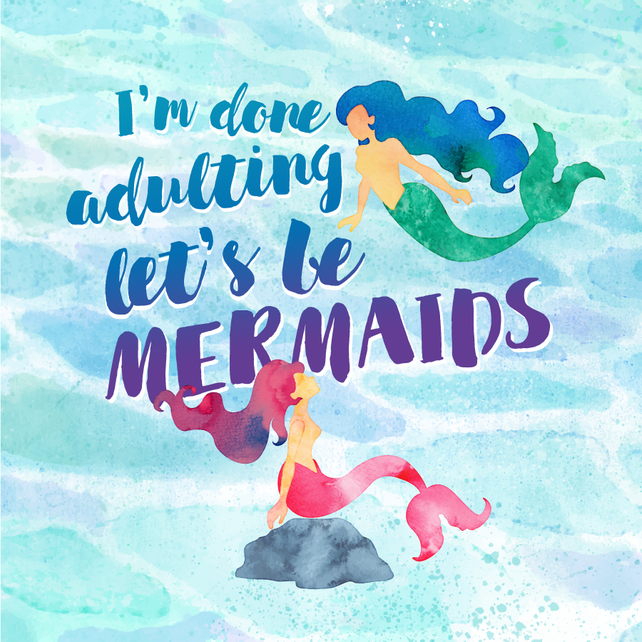 Let's Be Mermaids wallpaper | Awesome with Sprinkles
