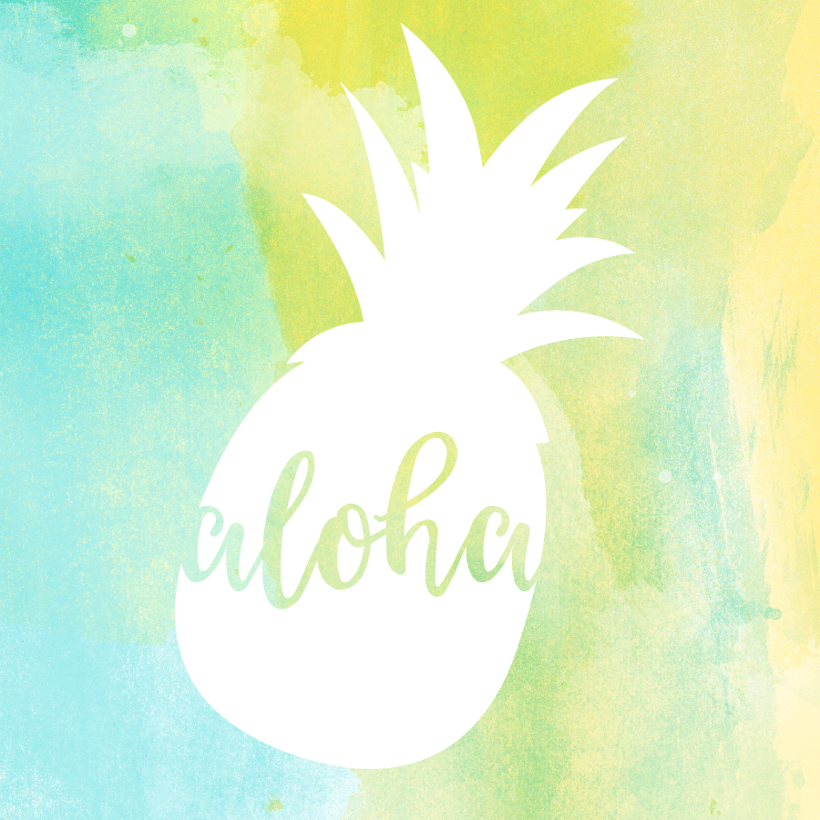 Aloha Pineapple wallpaper | Awesome with Sprinkles